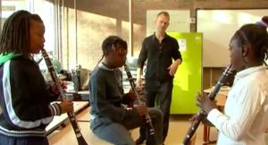 Stichting Leerorkest. Screenshot uit het filmpje.