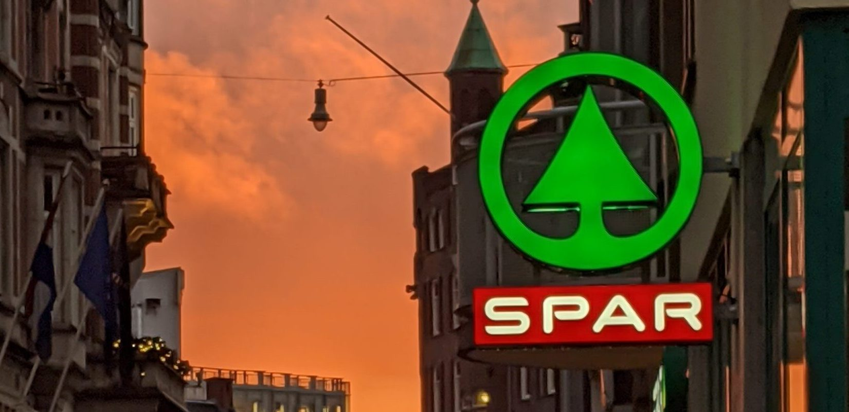De Spar City in de Nieuwe Doelenstraat. Foto: Jan Daalder
